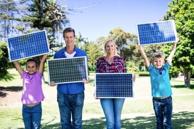 paneles solares gobierno